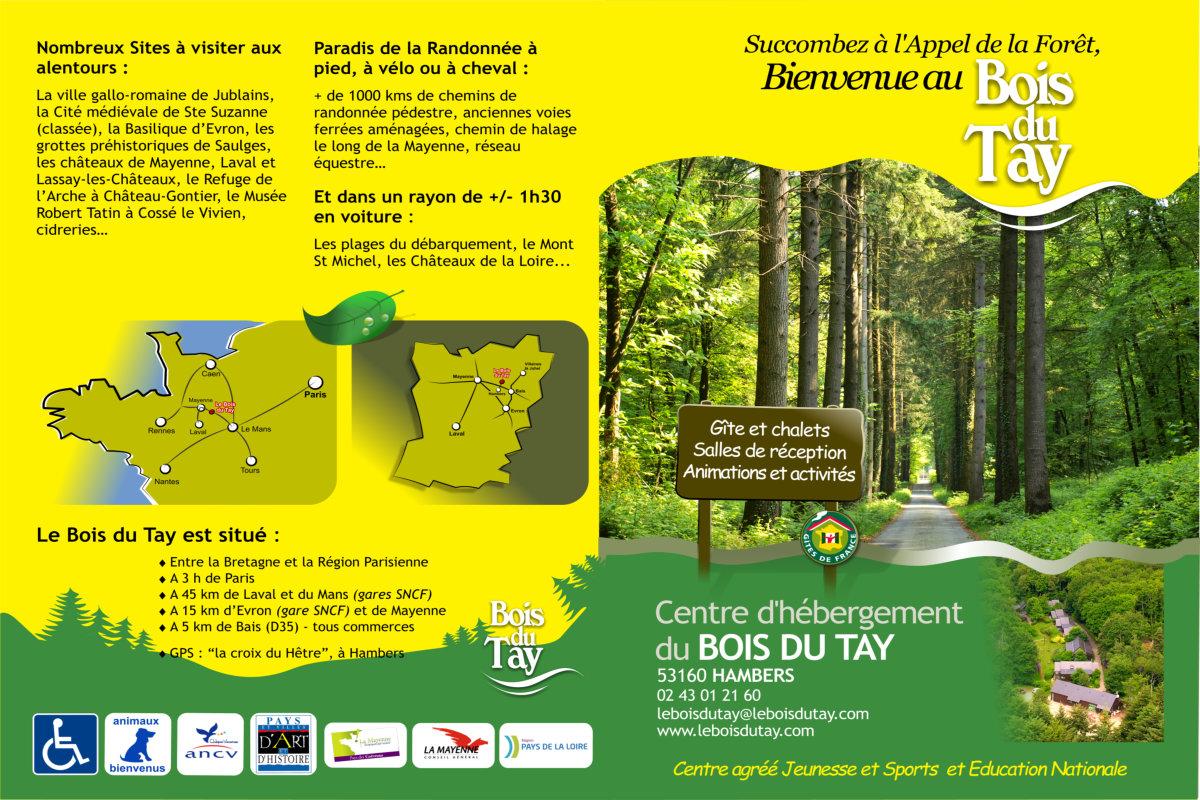 Plaquette Bois du Tay